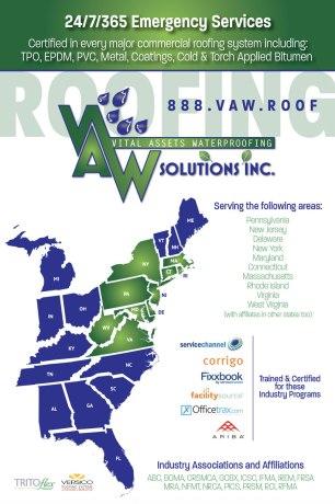 VAW Waterproofing Concept Poster