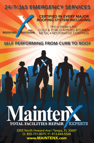6x9 Postcard Design for MaintenX. *Florida based facilities managers)