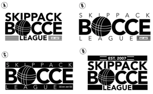 Skippack Bocce League logo design