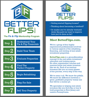 Better Flips Rack Cards