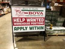 BOVA Sign
