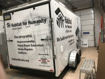 Trailer wrap / decal