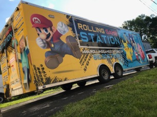 Design and Wrap for Rolling Game Station