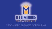 Illuminous Management Business card reverse