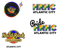 Hard Rock asked us to do concepts for their pride weekend